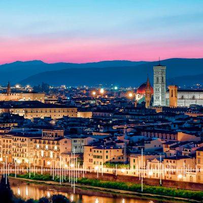 As cidades da Toscana