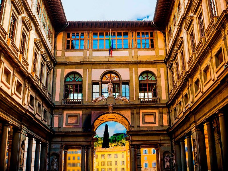 Galeria de los Uffizi