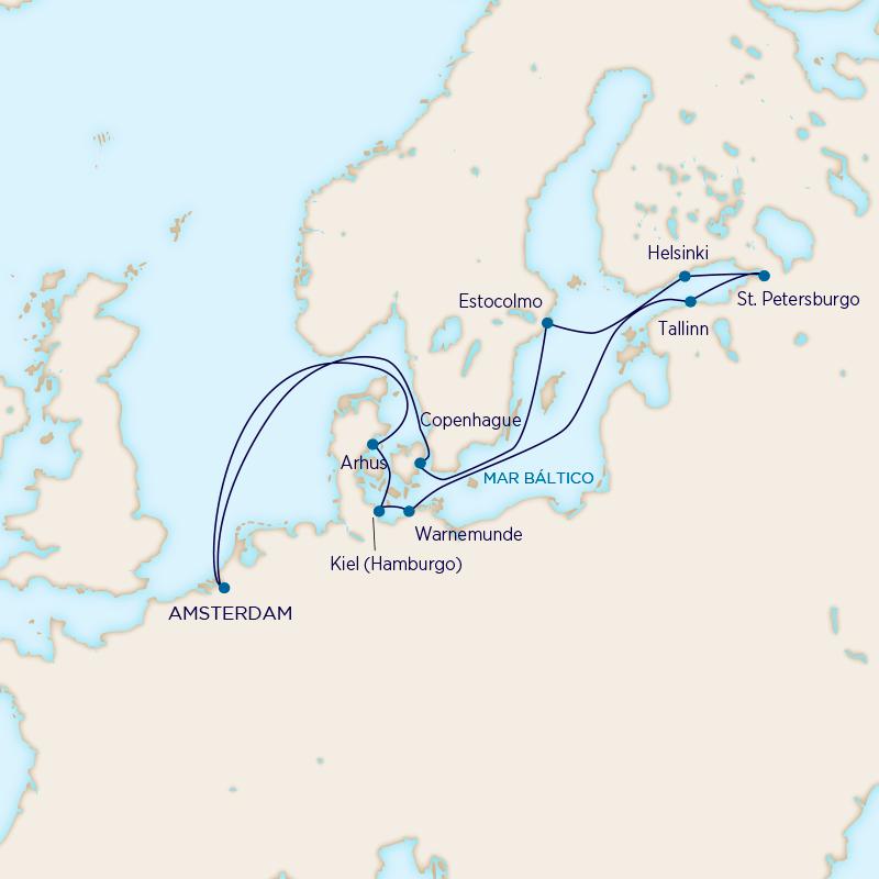 Holland America - Joyas del Báltico