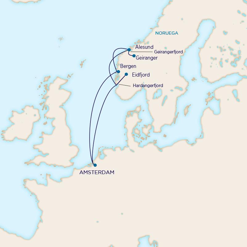 Holland America - Leyendas Nórdicas