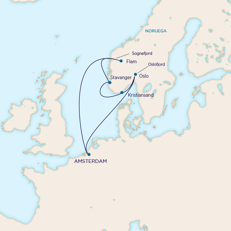 Holland America - Saga Vikinga