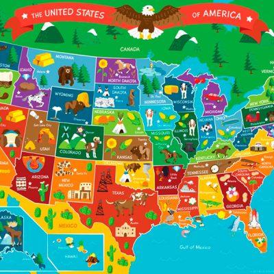 QUIZ: Geografia dos EUA