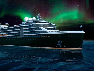 Seabourn Venture: em busca da aurora boreal